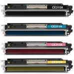 Cartucho Toner Compatível Hp 1025 | Ce311A | 126A ( 1200 Impressões ) Ciano