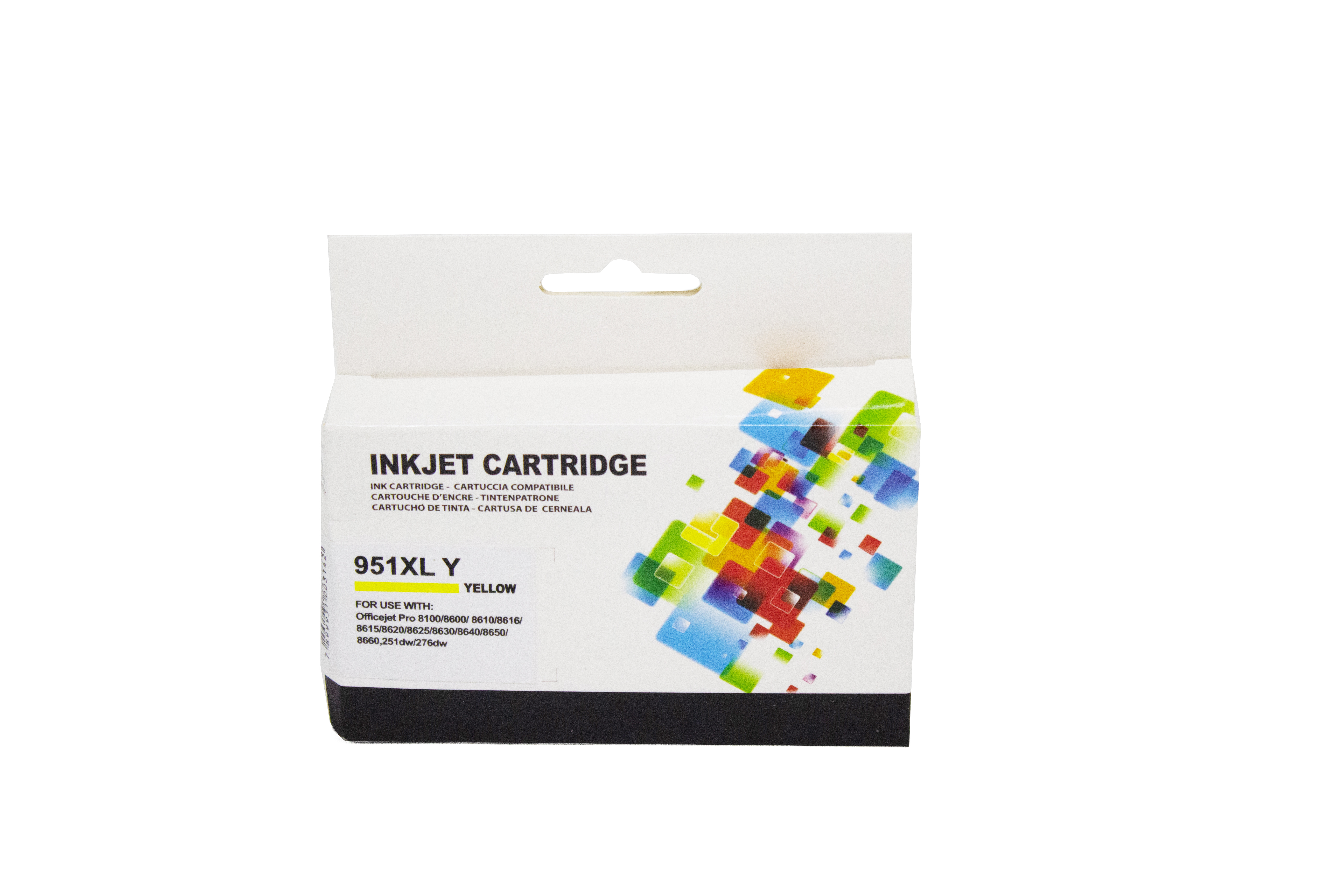 CARTUCHO TINTA HP 950 XL | PRO 8100 | 8600 | N911 | CN 048AN  YELLOW COMPATÍVEL PROFIT